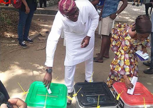 Sanwo Olu - Sanwo-Olu Takes Early Lead In Lagos Governorship Race