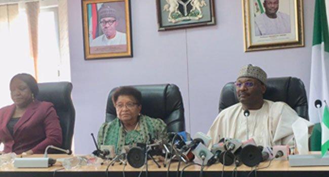 The Sirleaf 2 - 2019: Liberia's Ex President, Ellen Johnson-Sirleaf Meets With INEC Chairman (Photos)