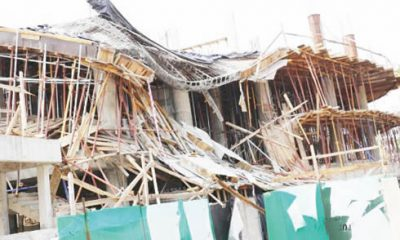 File Photo: Collapsed-building