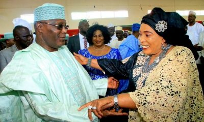 Atiku's Wife Reveals What Her Husband Will Do With Nigeria's Money