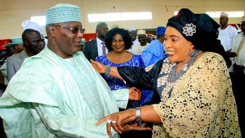 Atiku's Wife Reveals What Her Husband Will Do With Nigeria's Money