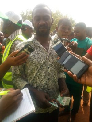 WhatsApp Image 2019 02 23 at 10.43.08 AM 300x400 - #NigeriaDecides: See Photos Of Party Chieftains Arrested With 43 PVCs
