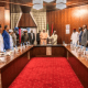 Breaking: Buhari In Emergency Meeting With Service Chiefs, Governors, Ministers