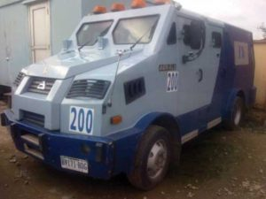 bullion van 300x225 - Police Confiscate Two Bullion Vans Transporting Cash Without Escort