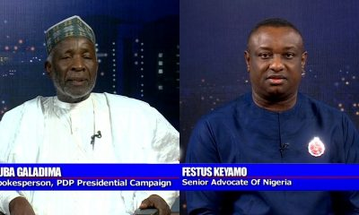 Nigerians React As Buba Galadima Knocks Keyamo On #PoliticsToday
