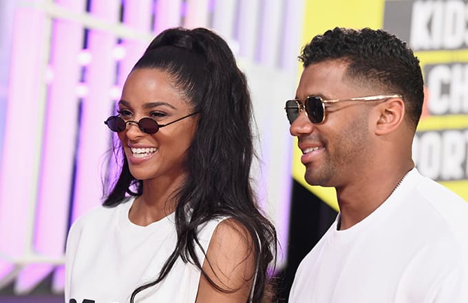 russell wilson ciara - Russell Wilson And Ciara Launch Production Company