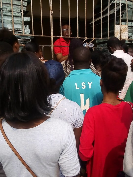 warri pvc 3 - See The Crowd That Trooped Out To Collect PVCs In Warri (Photos)