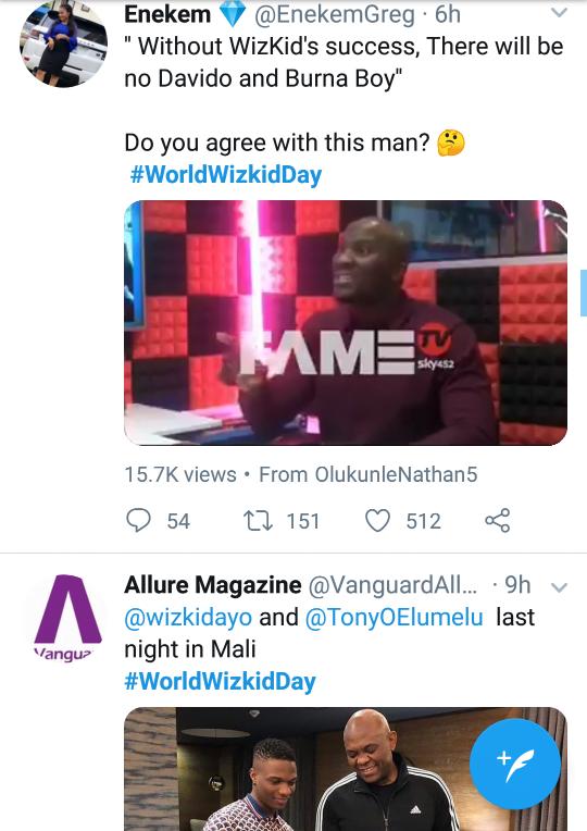 world Wizkid day 2 1 - Nigerians React As #WorldWizkidDay Trends On Twitter