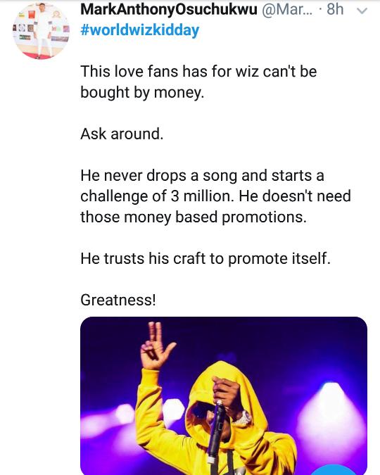 world Wizkid day 3 - Nigerians React As #WorldWizkidDay Trends On Twitter