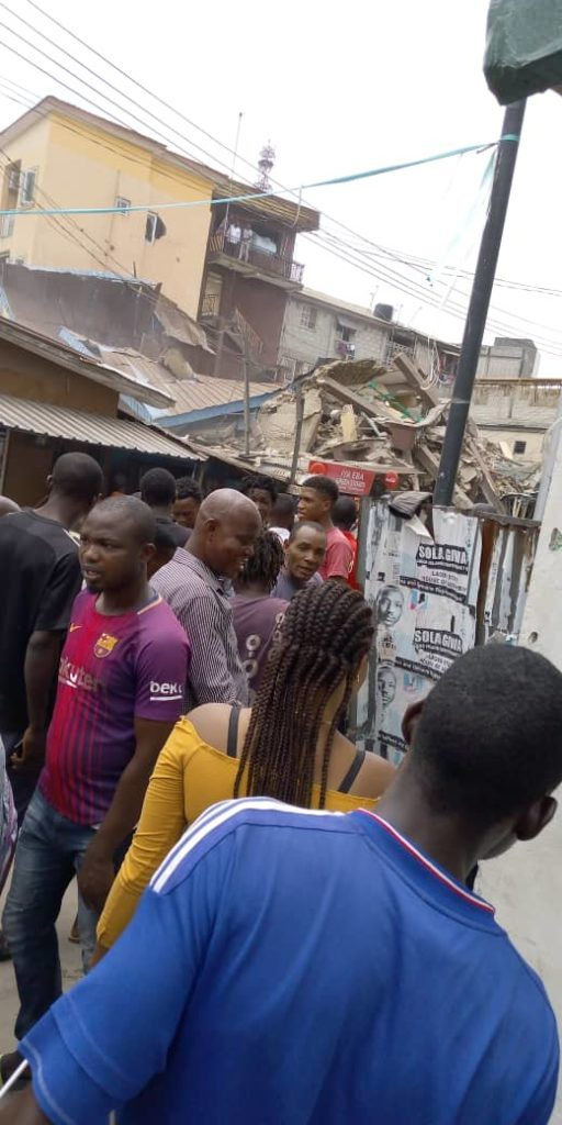 0abc2a6e c12c 4989 80c1 8a2306e22456 512x1024 - Photos: Another Building Collapses In Lagos State, Making Three Buildings In Two Weeks