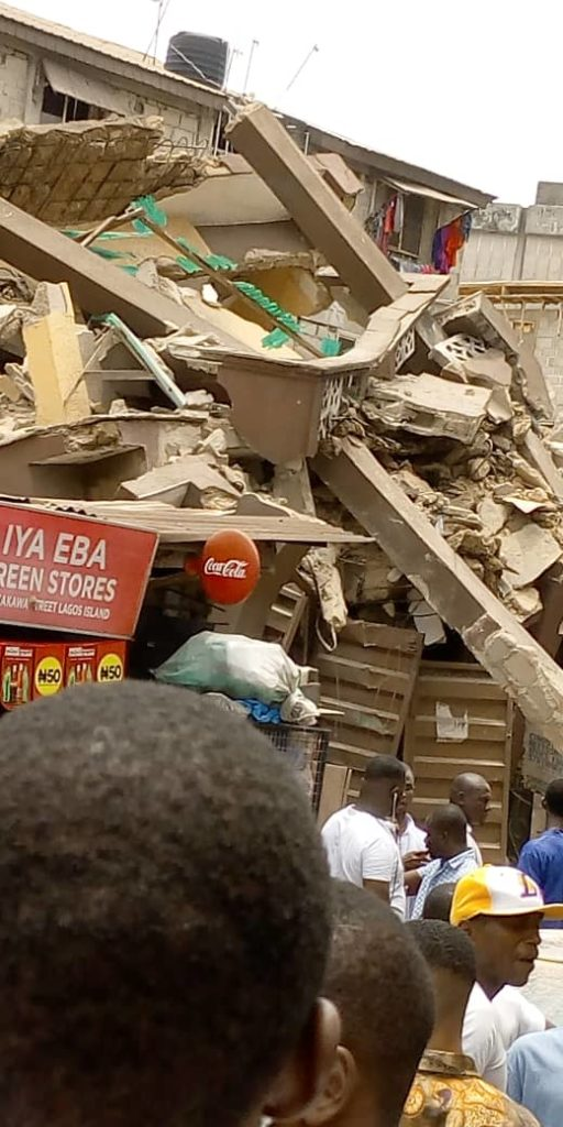 2f0668c0 25be 4580 ba15 c2c507c5927f 512x1024 - Photos: Another Building Collapses In Lagos State, Making Three Buildings In Two Weeks