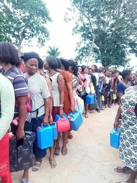 Abia govenrnor kerosene 5 - Abia Governor Shares Kerosene To Residents Ahead Guber Poll (Photos)