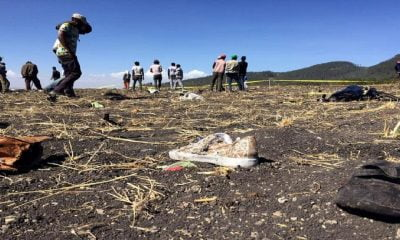 Air crash in Ethiopia all 157 people on board killed