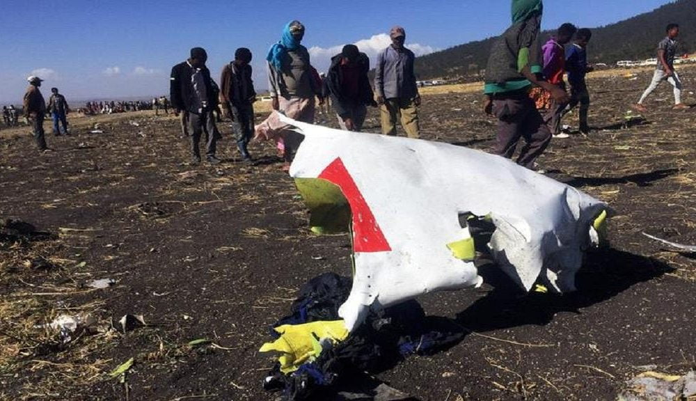 Air crash in Ethiopia what the pilot said before the tragedy 1000x576 - Air Crash In Ethiopia: Plane's Black Box Found