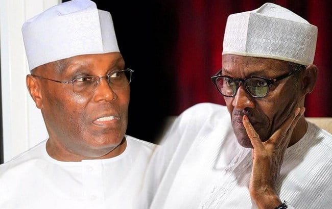Atiku Buhari - Election Tribunal: 'I Cannot Be Removed' – Buhari Tells Atiku