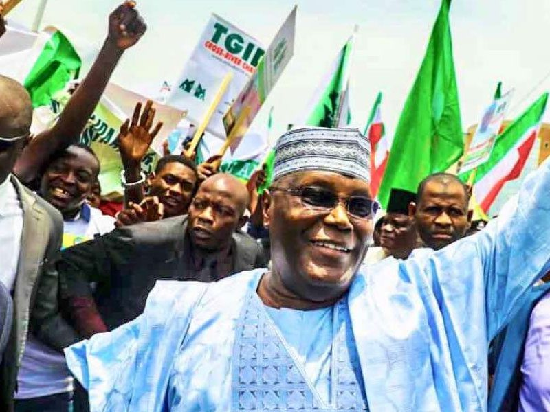 Atiku smiles 800x600 - I'll Reclaim My 'Stolen Mandate', Atiku Assures Supporters In 'Message Of Hope'