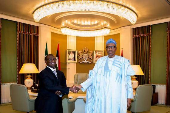 Buhari and Maikanti Baru