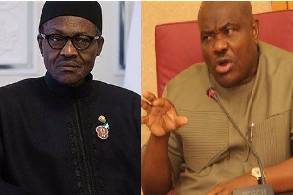 Buhari and Wike rivers - Buhari's Rivers Of Rigging For Oil (3bii) By Amaso Jack
