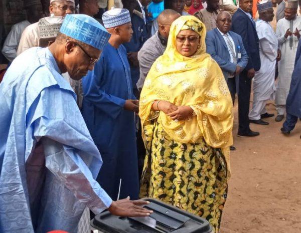 Buhari-votes-in daura