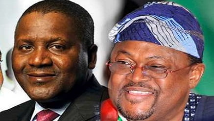 Dangote and Mike Adenuga - Checkout List Of 13 Richest Black People On Earth As Nigeria's Dangote Tops