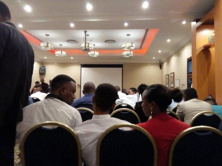 Photos: Nigerian Doctors Storm Venue Of Recruitment By Saudi
