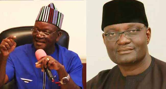 DodSyB5U4AAij h - Benue Governorship Election: Governor Ortom Leads Jime of APC in 19 of 23 LGs