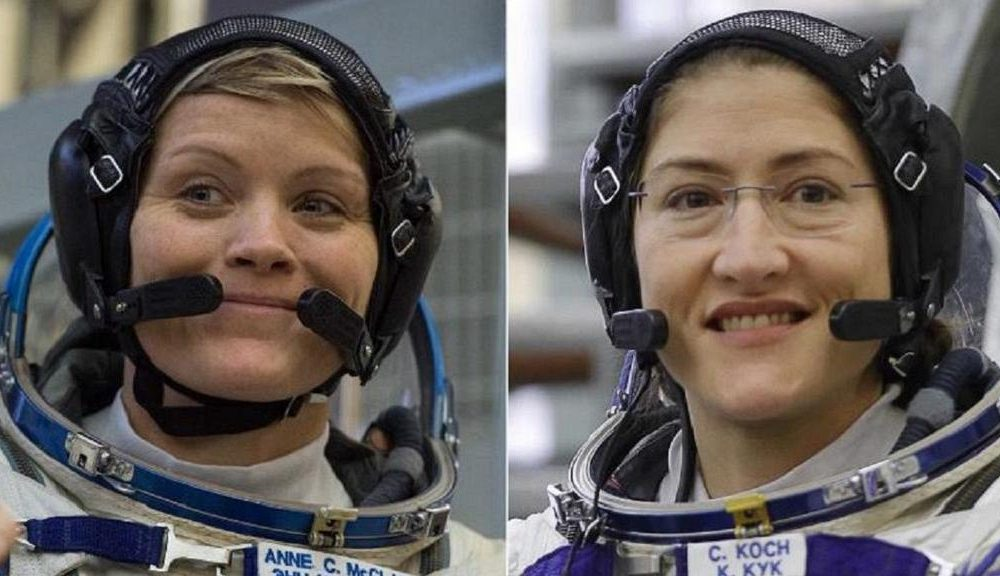 For The First Time In History Two Female Astronauts In Space 1000x576 - For The First Time In History, Two Female Astronauts In Space