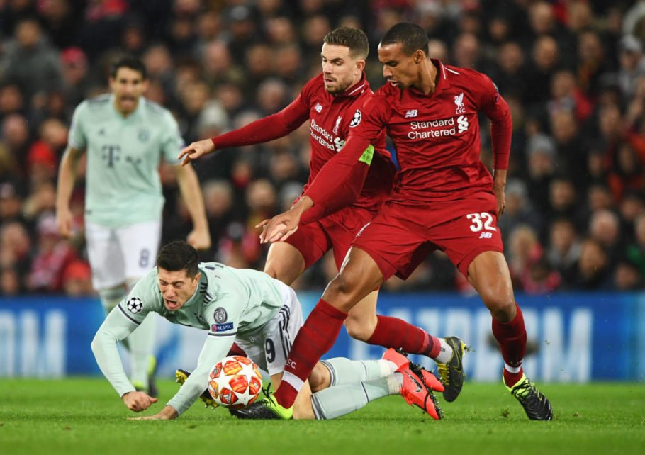 Liverpool v FC Bayern Muenchen – UEFA Champions League Round of 16: First Leg
