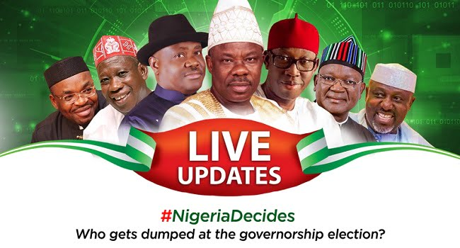 Governors in Naija - Nigeria Decides: See States PDP, APC Has Won So Far