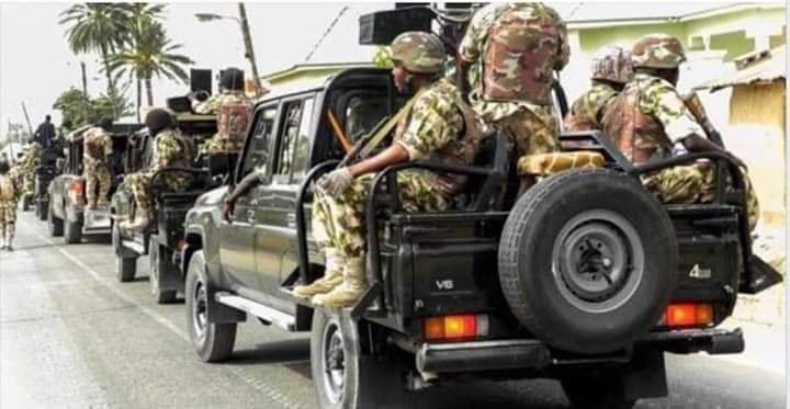 Nigerians React To Heavy Military Presence In River State