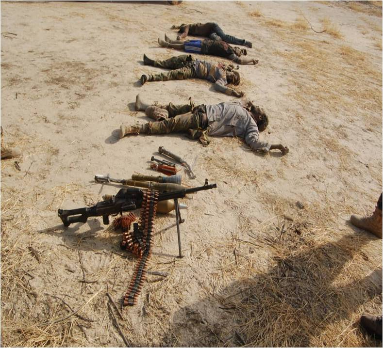 IMG 20190312 WA0338 - Boko Haram In Disarray As MNJTF Troops Inflict Heavy Casualties On Them
