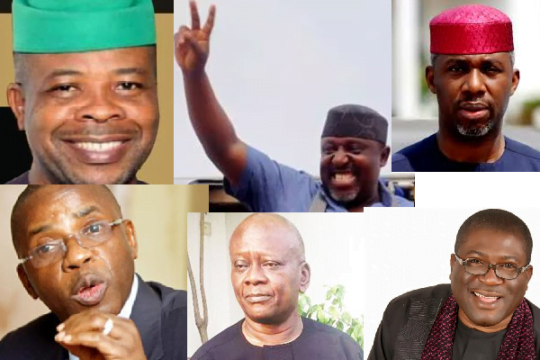 Imo State governorship aspirants 540x360 - Breakdown Of Imo Governorship Election Results From All LGAs