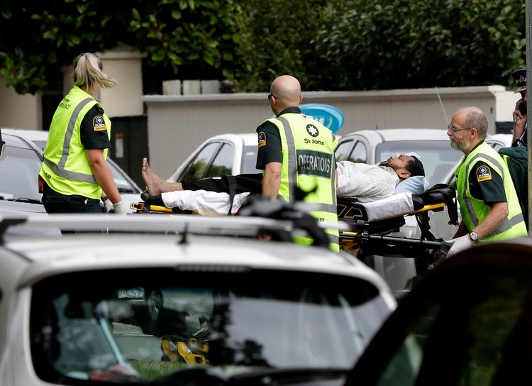 New Zealand Shootings Picture: New Zealand: More Than 40 People Killed As Terrorists Open