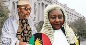 Nnamdi Kanu and Binta Nyako 300x157 - Biafra: Court Sets New Date For Nnamdi Kanu's Trial