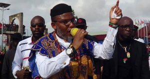 Nnamdi Kanu speaks 300x158 - No Difference Between DSS And Boko Haram Terrorists – Nnamdi Kanu