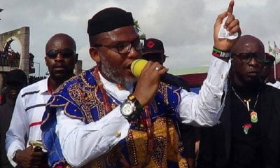 Nnamdi Kanu Cautions Igbo Youths Against Joining Ebubeagu