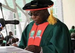 Obasanjo Breaks Silence On Receiving Salary From NOUN
