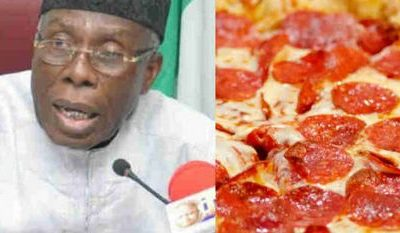 Agric Minister Cries Out Over Importation Of Pizza By Nigerians (Video)