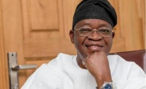 Oyetola 300x182 - #EndSARS: I Was Attacked By Political Thugs, Not Protesters – Gov. Oyetola
