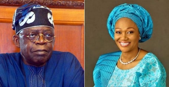 Image result for tinubu and wife