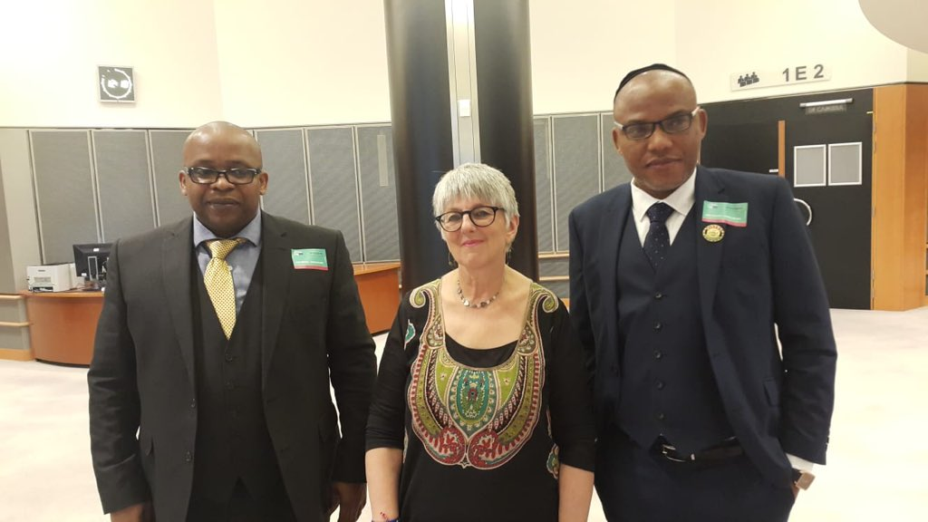 Biafra: What Nnamdi Kanu Discussed With EU Parliamentarians (Video)