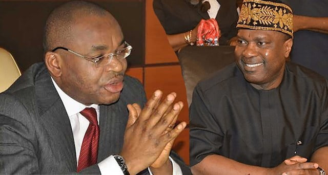 Udom Emmanuel and Nsima Ekere - Breakdown Of Akwa Ibom Governorship Election Results From All LGAs