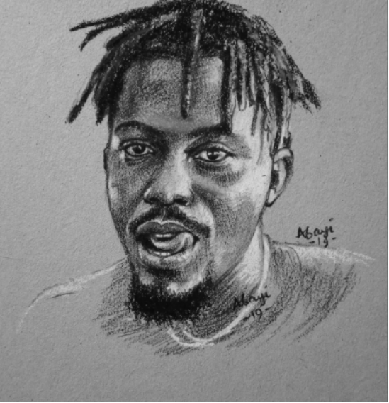 Ycee painting - Twitter Users Slam Y Cee For His Comment On A Drawing Of Him