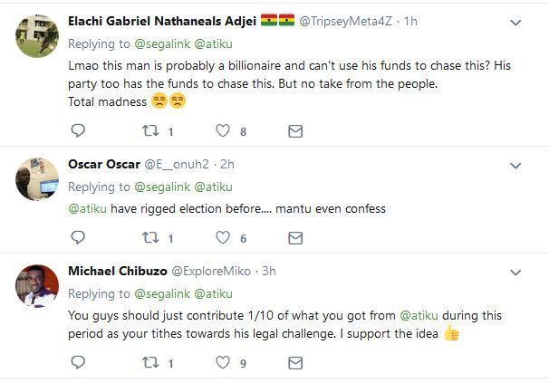 ati 2 - Nigerians React To GoFundMe Account Opened To Support Atiku's Court Case Over Presidential Election Result