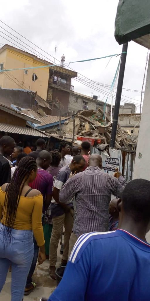 b154295d 5a08 4f85 abed 73d061814f11 512x1024 1 - Photos: Another Building Collapses In Lagos State, Making Three Buildings In Two Weeks