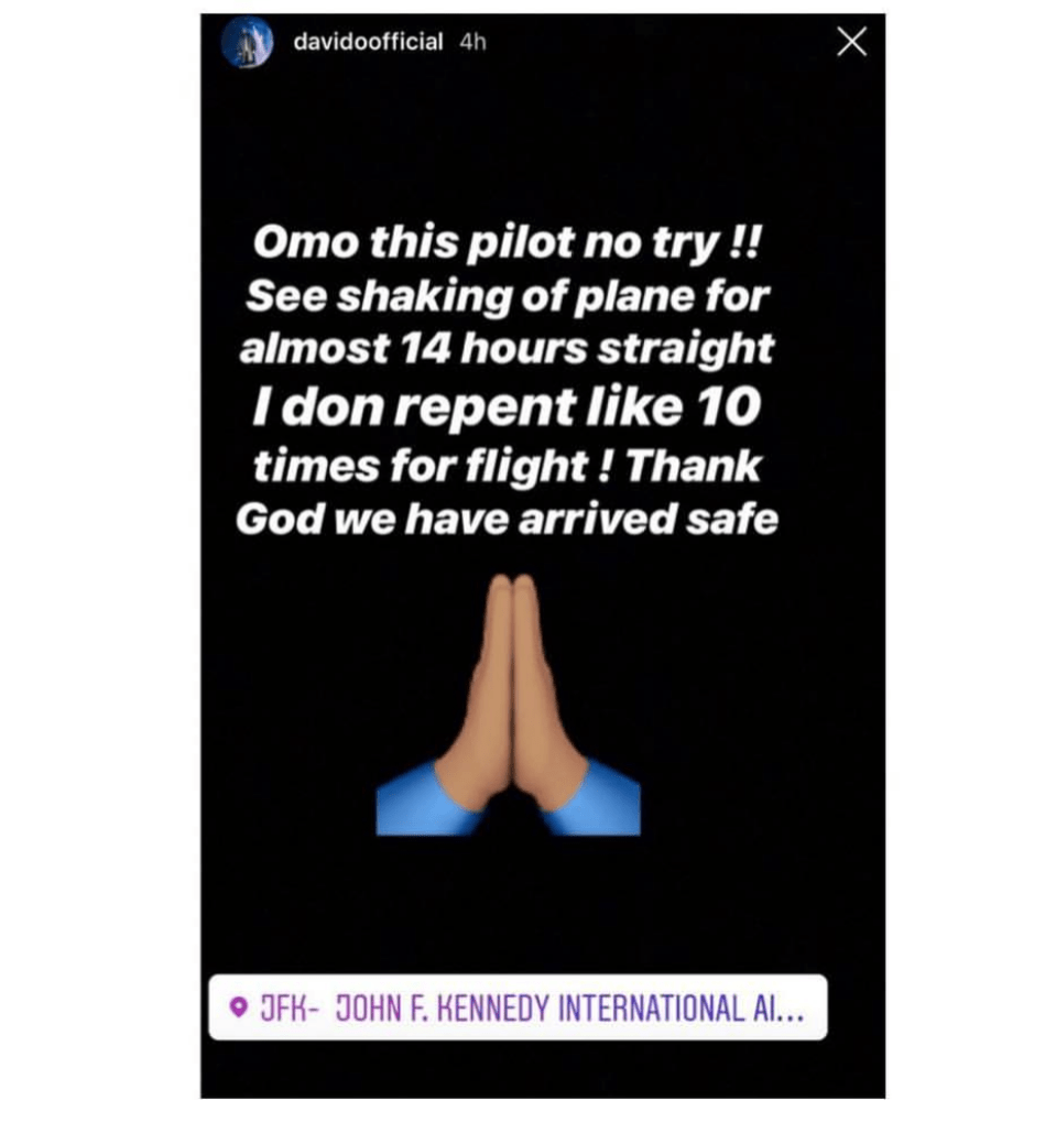 davido - Davido Escapes Plane Crash (Photo)