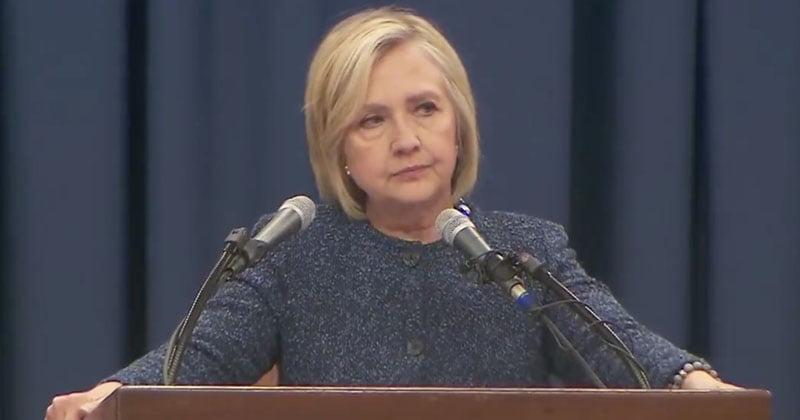 Hillary Clinton Reacts As US House Impeach Donald Trump