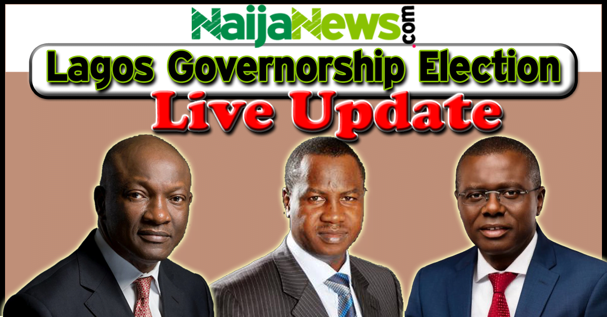 Gubernatorial Election 2019 Nigeria Update: Live Updates: Lagos Governorship And State Assembly