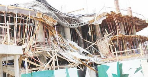 Breaking: School Building Collapses In Lagos, Several Pupils Feared Dead