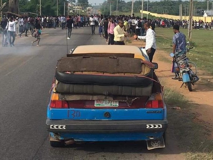 4F6E222B EFEE 4286 9D9A 9DE81B5A997F - Students Of OSUSTECH Protest Over Increase In School Fees